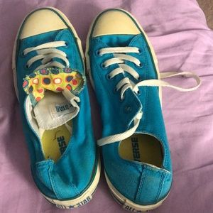 Teal converse all-stars